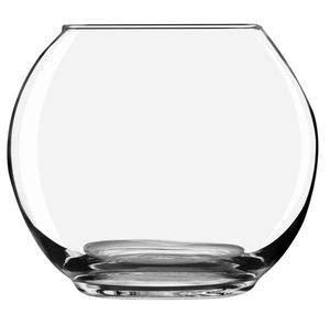 Oberstdorfer Glashütte Kugelvase groß klare Glaskugelvase Kristallglas Vase mundgeblasen Höhe ca. 25 cm Durchmesser ca. 29.5 cm Öffnung Oben ca. 18 cm