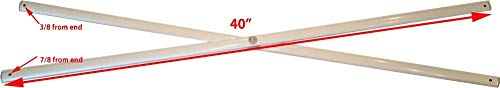 E-Z UP Envoy 10x10 Straight Leg Instant Shelter Canopy-Side (Closest to Leg) Truss Bars 40' Replacement Parts