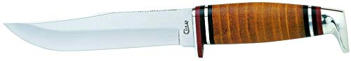 CASE XX WR Pocket Knife Fixed Blade Polished Leather Item #385 - (365 5 SS) - Length Closed: 9 Overall Inches