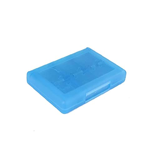 sevenjuly 28 En 1 Juego Tarjeta Caja Cuadro Titular Cartucho para Nintendo 3ds Juegos Vedio (Azul) Cajas De Almacenamiento