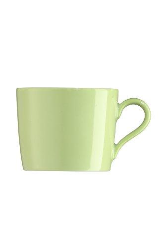 Arzberg Tric Grün Kaffee-Obertasse, Porzellan, Green, 28.1 x 19.3 x 8.9 cm