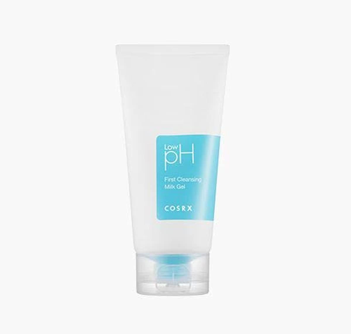 濃度しっかり消費者[COSRX] Low pH First Cleansing Milk Gel 150ml / Low pH ファースト クレンジング ミルク ジェル 150ml [並行輸入品]