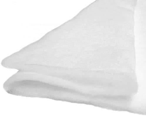Molleton - Ouate au Mètre 100g/m², 160cm de Large. 100% Polyester, Oeko-Tex classe i, env 5 mm d'épaisseur
