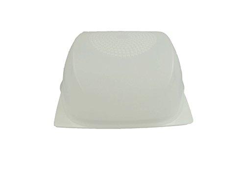 TUPPERWARE Cheesmart Cuadrado Pequeno transparente blanco