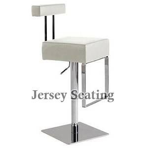 NEW Cushioned Restaurant/ Kitchen Counter /Pub/ Salon Hydraulic Lift Swivel Bar Stool Chair (1054 White)