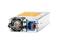 HP 1200W Common Slot Platinum Plus Hot Plug Power Supply Kit - Fuente de alimentación (1200W, 100 - 240V, 50 - 60 Hz, Servidor, ProLiant DL360p Gen8, ProLiant DL380p Gen8, ProLiant ML350p Gen8, ProLiant SL250s Gen8, Metálico)