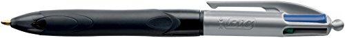 BIC Grip Pro - Bolígrafo de bola retráctil (4 colores)