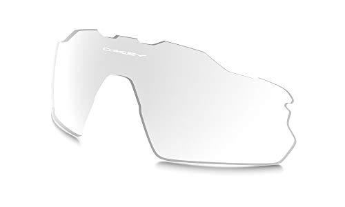 Oakley AOO9211LS Radar EV Pitch Sport Replacement Sunglass Lenses, Clear, 38 mm