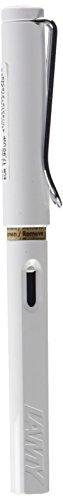 LAMY safari Füllhalter 019 – Moderner Füller in der Farbe Weiß mit ergonomischem Griff und zeitlosem Design – Federstärke B