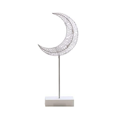 Wenyounge Lámpara de Mesa Lámpara de Noche con Forma de corazón de Estrella con Pilas Lámpara de Escritorio Lámpara Decorativa de Estilo LED Ins