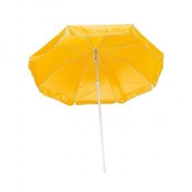 Strandschirm / Sonnenschirm / stufenlos verstellbar / Farbe: gelb