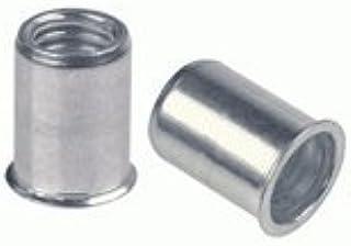 1000 piece box 18-8 Stainless Steel Sem-tubular Rivet 5//16 Head Diam 3//8 Length 3//16 Body Diameter OVAL Head Style