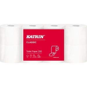 Toilettenpapier Katrin 200 Classic 8 Rollen 2-Lagig