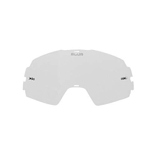 Blur Unisex-Erwachsene Spare Lens Clear B-20 Ersatzlinse, farblos, One-Size