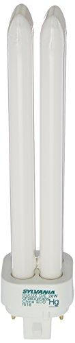 Sylvania 20673 Compact Fluorescent 4 Pin Double Tube 3500K, 26-watt