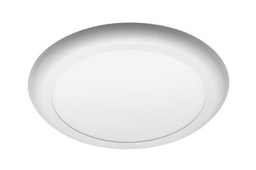 Lámpara LED Monza Downlight, 12 W, 1000 lm, CA 220-240 V, 50/60 Hz, PF0,5, RA≥80, IP40, 120°, 4000 K, cuadrada, color blanco