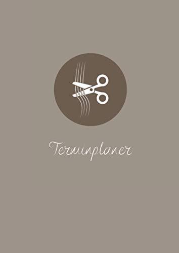 Terminplaner: Terminplaner A4: Terminkalender für das Kosmetikstudio, Nagelstudio & Friseur Salon I Terminbuch mit Uhrzeiten 07:00 – 21:00 Uhr I Alphabetisches Kundenbuch I Undatiert