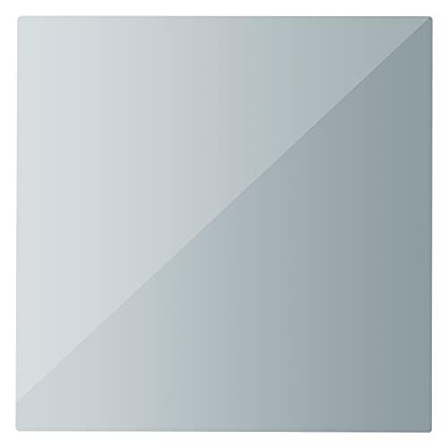 Infrarot Spiegel Heizung MD300Plus 60x60cm Infrarotheizung Spiegelheizung für Badezimmer mit Thermostatempfänger und optionalen Thermostaten (auch per App steuerbar)