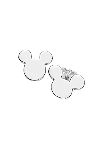 So Cosi Women's Stud Earrings LETS GO WITH MICKEY Silver One Size