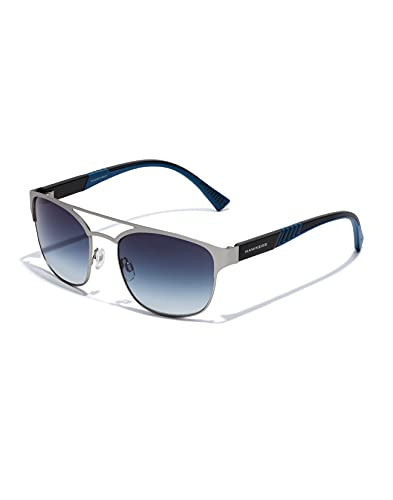 HAWKERS Vital Gafas de Sol, Silver Blue Night, Talla única Unisex Adulto