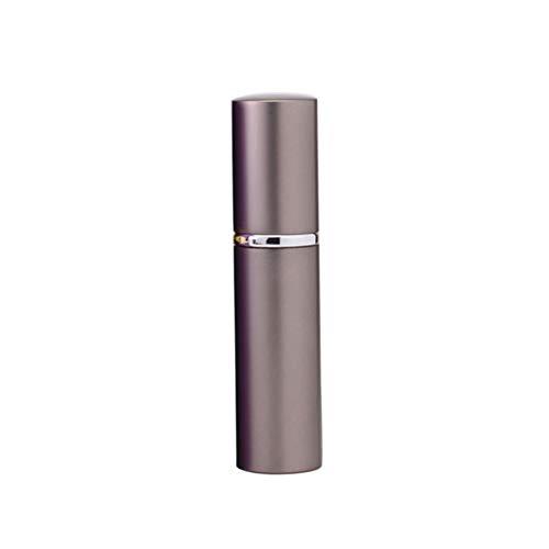 Lovejoy Store 1 x 10 ml Flüssig-Reise-Sprühflasche, Aluminium-Sprühflasche, feiner Nebel, nachfüllbar, leer Parfüm-Diffusor, einfarbig, Golden