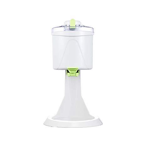 Volautomatische Ice Cream Machine, 1L grote capaciteit Ice Cream Machine, 4D Roeren, diepvriezen, gemakkelijk schoon te maken, kan worden gebruikt in The Home