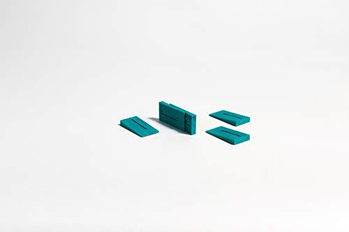 Parador Rastkeile aus Kunststoff - Abstandshalter zum Verlegen von Laminat, Parkett und elastischen Böden - Set mit 96 Stück