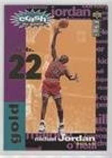 Michael Jordan (Basketball Card) 1995-96 Upper Deck Collector's Choice - Crash the Game Redemption Assists/Rebounds - Gold #C1