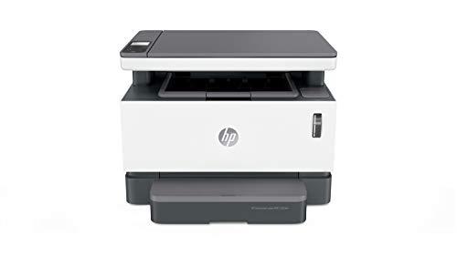 HP Neverstop Laser 1202nw drukarka laserowa (drukarka laserowa do wielokrotnego napełniania, skaner, kopiarka, Wi-Fi, LAN, Airprint)