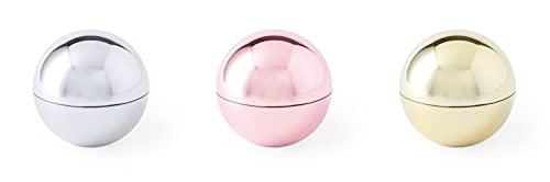 Bálsamos Labiales Aroma dorados, plateados y rosados en Lote de 20 unidades,...
