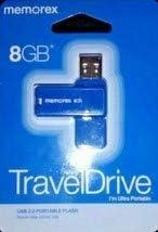 Blue Memorex GB Swivel TravelDrive USB Ultra Portable 2.0 Flash Travel Drive