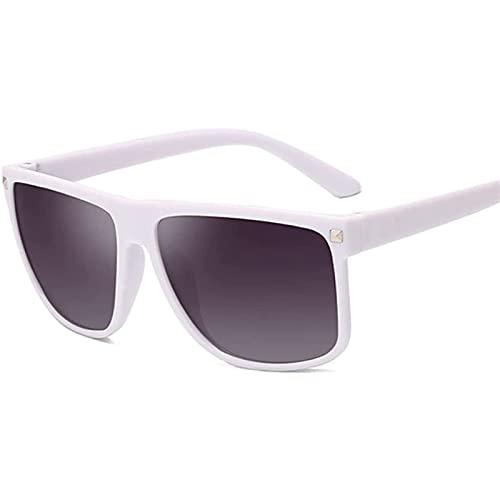LSLY Gafas de Sol Negras para Hombre, Mujer, Gafas de Sol para Hombre, Gafas de Sol clásicas para Hombre, Gafas de Sol UV400 de Verano con Espejo Cuadrado