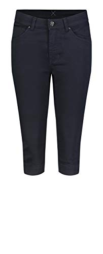 MAC Jeans Damen Hose Straight Dream Capri Cotton Super Stretch fade Out Satin 36/19