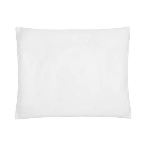 BORNINO HOME Taie d'oreiller : 35 x 40 cm, blanc