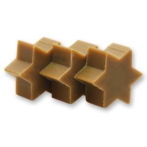 5 étoiles de savon - DATE - Large - Savon au lait de brebis Florex - Cadeau d'invité - Remplissage du calendrier de l'avent