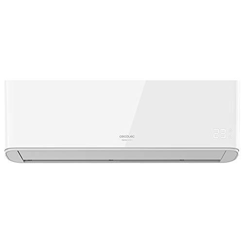 Cecotec Aire acondicionado split EnergySilence 12000 AirClima. 12000 BTU, bomba de calor, pantalla LED, mando a distancia, 5 modos, temporizador 24h, 62db, clasificaci—n energŽtica A++