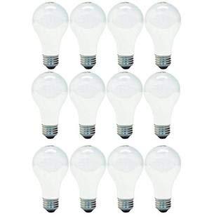 GE Lighting 66247 Soft White 43-Watt, 620-Lumen A19 Light Bulb with Medium Base, 12-Pack