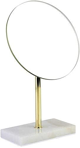 LLLKKK Miroir de maquillage rond pliable avec lumières - Miroir de poche grossissant 1 x - Miroir de maquillage de voyage - Miroir de maquillage lumineux pour salle de bain