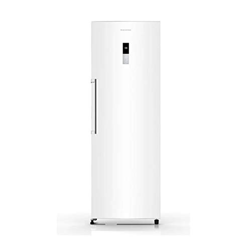 CONGELADOR VERTICAL FRV-265 MILECTRIC (Blanco, Alto 185 cm, A+, NO FROST METAL TECHNOLOGY, Luz LED, Control de temperatura)