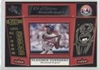 Vladimir Guerrero (Baseball Card) 2001 EX - E-Xtra Innings Behind The Numbers Jerseys #8 XI