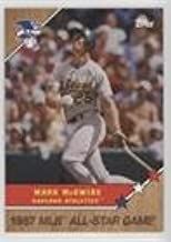 Mark McGwire #/1,722 (Baseball Card) 2017 Topps On Demand - MLB All-Star Game - Homage to '87 - Topps Online Exclusive #24