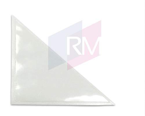 RM Dreiecktaschen 100x100 mm, PP glasklar