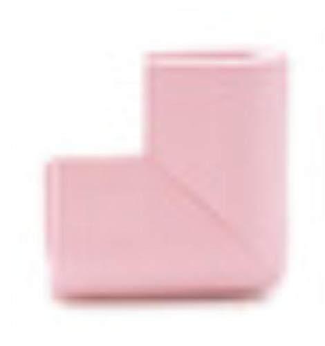 Piero 4-delige U-vormige hoekbeschermer Babyveiligheid Glazen salontafel Hoekbotsing Beschermende kinderen, roze