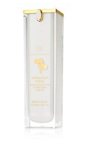 Soie Huile Du Marocain Anti-oxydant Visage Base W.Information Guide - Infusé avec Argan / – Maquillage - Blurs Imperfections,Works comme un Pore Minimiseur – Utilisé pour et Apprêt. Dure Plus -