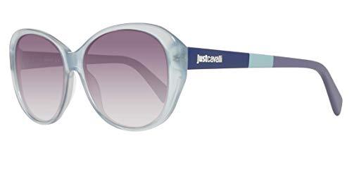 Just Cavalli Sonnenbrille JC744S 5887B Occhiali da Sole, Blu (Blau), 58 Donna