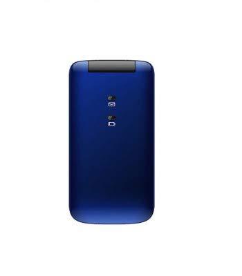 Saiet Compact - Teléfono móvil teclas y números grandes - Color azul