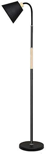 Lamp Nordic Moderne verticale tafellamp woonkamer slaapkamer IKEA Warm studie creatieve persoonlijkheid eenvoudige W12/28 (kleur: zwart rocker arm, grootte: traploze dimmen), maat: traploze DIi