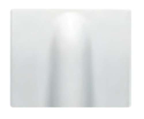 Bjc - 18734 tapa salida de cables iris blanco Ref. 6531010257