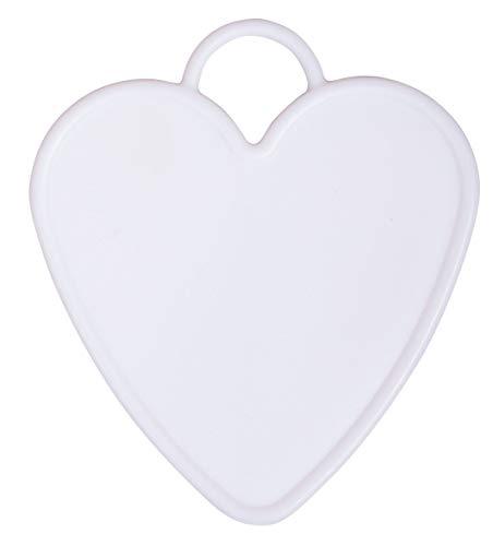 Rayher 87151000 Ballongewicht Herz, Mehrfarbig, 7.7 x 8.7 cm