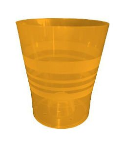 Plastkon Déco Orchidée Pot Diamètre 11 cm, Orange